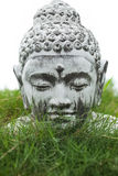 Buddha statue head Stock Photos