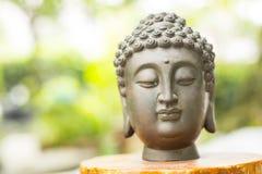 Buddha statue head Royalty Free Stock Photos