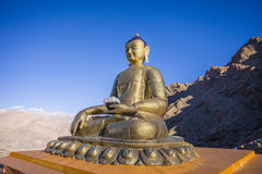Buddha statue at Hemis Monastery Royalty Free Stock Photo