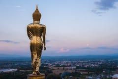 Buddha statue. On the hill at Wat Khao Noi, nan Royalty Free Stock Photo