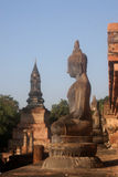 Buddha statue historical complex, Sukhothai Stock Images