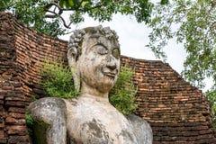 Buddha-Statue, historischer Park KamphaengPhet Stockfotos
