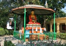 Buddha statue in holy Varanasi Royalty Free Stock Images