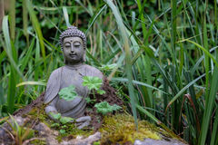 Buddha Statue. In Holzkirchen, Germany royalty free stock images