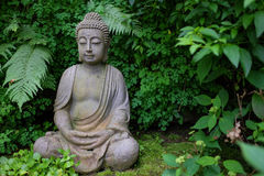 Buddha Statue. In Holzkirchen, Germany stock photo
