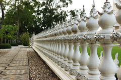 Building fences Stock Photo