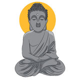 Buddha Statue Icon Stock Photos