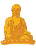 Buddha Statue Illustration Royalty Free Stock Photos