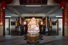Buddha-Statue im Tempel in Malakka, Malaysia lizenzfreies stockbild