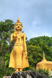 Buddha-Statue im Tempel Nord-Thailand Lizenzfreies Stockfoto