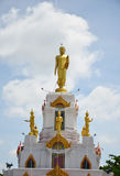 Buddha Statue image with Clouds and Sky Background Royalty Free Stock Image