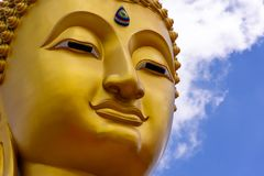 Buddha statue image at Thailand stock photo