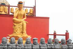 Buddha statue on the island of Jeju Stock Photography
