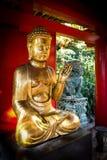 Buddha Statue. On the island of Madeira Royalty Free Stock Photos