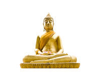 Buddha statue isolate Stock Photography