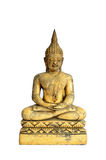 Buddha statue isolate on white background Stock Image
