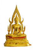 Buddha statue isolate on white background Stock Photo