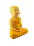 Buddha statue. Isolate on white background Royalty Free Stock Image