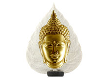 Buddha statue isolated Royalty Free Stock Photo