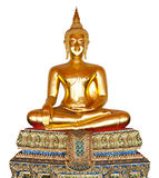 Buddha statue isolated on white. Stock Photography