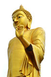 Buddha statue. Isolated on white Royalty Free Stock Photos