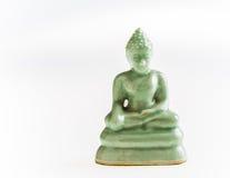 Buddha statue isolated on white background Stock Image
