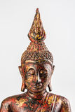 Buddha statue isolated on white background Royalty Free Stock Photo