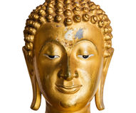 Buddha statue isolated on white background Stock Photography