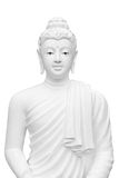 Buddha statue isolated on white background Royalty Free Stock Photography