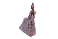 Buddha statue on isolated white Stock Image