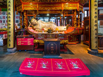 Buddha statue in the Jade Buddha Temple stock images