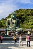 Buddha-Statue in Kamakura Lizenzfreies Stockbild