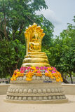 Buddha statue at Kanchanaburi province. Thailand Stock Image