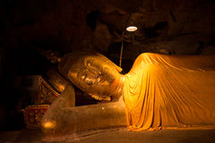Buddha statue. In the khao luang cave ,Petchburi ,Thailand Royalty Free Stock Image
