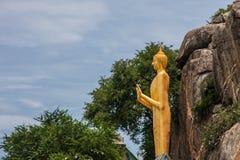 Buddha statue, khao takiap temple Royalty Free Stock Image