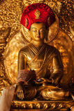 Buddha statue in Lamayuru monastery, Ladakh, India Royalty Free Stock Images