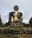 Buddha statue in Laos Stock Images