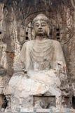 Buddha statue in Longmen Grottoes. China Stock Image
