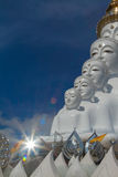 Buddha Statue. 5 Lord Buddha at wat phra that pha son kaew royalty free stock image