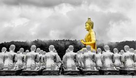 Buddha statue in Magha Puja park Stock Images