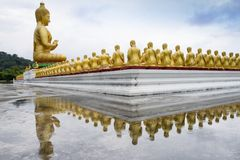 Buddha statue in Magha Puja park Royalty Free Stock Image