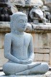 Buddha statue in meditation pose Stock Image