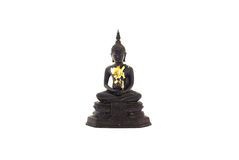 Buddha statue in meditation posture Stock Photography