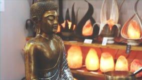 Buddha statue mindfulness mystic meditation background