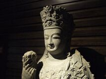 Buddha statue in museum Stock Photos