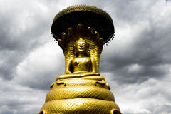 Buddha statue Nag Royalty Free Stock Photography