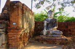 Buddha. Statue near Inwa, Myanmar Royalty Free Stock Images