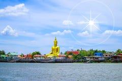 The Buddha statue stock image
