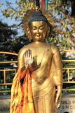 Buddha statue In Nepal. Royalty Free Stock Image