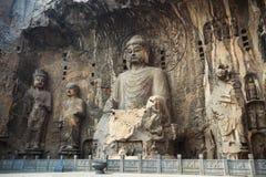 Locana buddha statue niche Stock Image